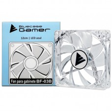 Cooler para Gabinete Bluecase Gamer BF-03, LED Blue 120mm
