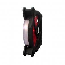 Cooler para Gabinete Bluecase Gamer Ring, LED Red 120mm, BFR-05R