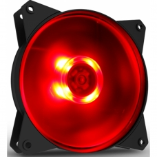 Cooler Para Gabinete Cooler Master Masterfan MF120L, LED Red 120mm, R4-C1DS-12FR-R1