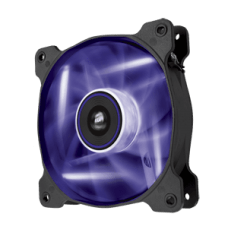 Cooler para Gabinete Corsair AF120, LED Purple 120mm, CO-9050015-PLED