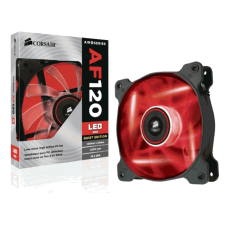 Cooler para Gabinete Corsair AF120, LED Red 120mm, CO-9050015-RLED