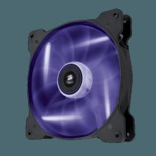Cooler para Gabinete Corsair AF140 LED 9050017-PLED Roxo Quiet Edition - OPEN BOX