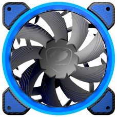 Cooler para Gabinete Cougar Vortex FB, 120mm, Azul, 3MFB120X.0001