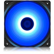 Cooler para Gabinete Deepcool RF120 B, Led Blue, 120mm, DP-FLED-RF120-BL