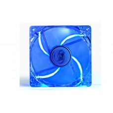 Cooler para Gabinete DEEPCOOL Super Silent Big Airflow LED Azul 120mm