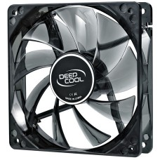 Cooler para Gabinete Deepcool Wind Blade 120, LED White 120mm, DP-FLED-WB120-WH