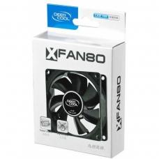 Cooler para Gabinete Deepcool XFAN 80, 80mm, DP-FDC-XF80