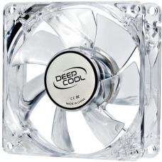 Cooler para Gabinete Deepcool XFAN80 L/Y, LED Amarela 80mm, DP-FLED-XF80LY