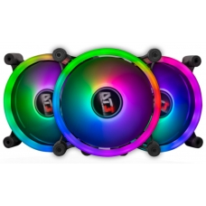 Kit Fan com 3 Unidades DT3sports SL120 Sync, RGB 120mm, 11388-1