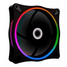 Cooler Para Gabinete Gamemax Rainbow, ARGB 120mm, GMX-12RAINBOW-DB - Open Box