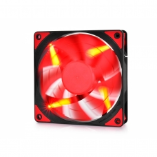 Cooler para Gabinete Gamer Storm Deepcool, LED Red 120mm, DPGS-FTF-TF120RR