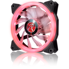 Cooler para Gabinete Raijintek Iris 12, Red, 120mm, 0R400040