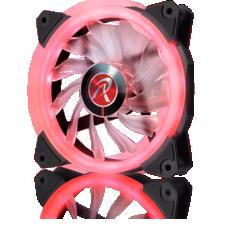 Cooler para Gabinete Raijintek Iris 12, Red, 120mm, 0R400040