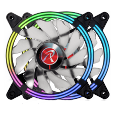 Kit Fan com 2 Unidades Raijintek SKLERA 12 RBW ADD-2, ARGB, 120mm, 0R40B00129