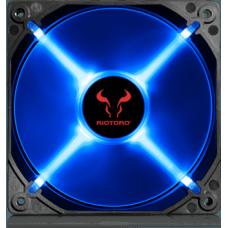 Cooler para Gabinete Riotoro Cross-X Classic, LED Blue 120mm, FB120
