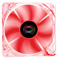 Cooler para Gabinete Riotoro Cross-X Clear, LED Red 120mm, FR120XR - Open Box