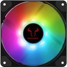 Cooler para Gabinete Riotoro Quiet Storm, LED RGB 120mm, FRGB-QS120
