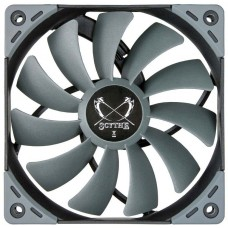Cooler para Gabinete Scythe Kaze Flex 120mm 800 RPM, SU1225FD12L-RD