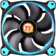 Cooler Para Gabinete Thermaltake Riing 14, LED Blue 140mm, CL-F039-PL14BU-A - Open Box