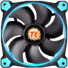 Cooler Para Gabinete Thermaltake Riing 14, LED Blue 140mm, CL-F039-PL14BU-A