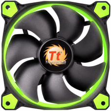 Cooler Para Gabinete Thermaltake Riing 14 LED Green CL-F039-PL14GR-A