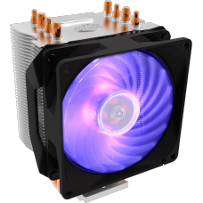 Cooler para Processador Cooler Master Hyper H410R, RGB, 92mm, Intel-AMD, RR-H410-20PC-R1