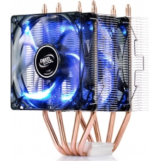 Cooler para Processador DeepCool Frostwin, LED Blue 92mm, Intel-AMD, DP-MCH4-FT-LEDV2