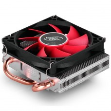 Cooler para Processador DeepCool HTPC-200, FAN RED, 80mm, Intel-AMD, DP-MCH28015-H200