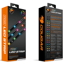 Fita de LED Cougar RGB Strip, 450mm, 3MLEDSTR.0001