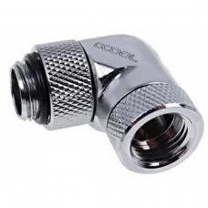 Fittings Alphacool Adaptador 90° - Rosca G1/4 INT/EXT - Croma