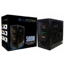 Fonte BlueCase ATX 500W BLU500-E ATX, Com Cabo