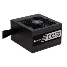 Fonte Corsair CX550 550W, 80 Plus Bronze, PFC Ativo, CP-9020121-WW