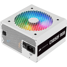 Fonte Corsair CX650F, RGB, WHITE, 650W, 80 Plus Bronze, CP-9020226-BR