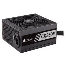 Fonte Corsair CX850M 850W, 80 Plus Bronze, PFC Ativo, Semi Modular, CP-9020099-WW