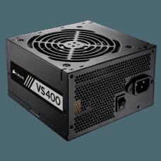 Fonte Corsair VS400 400W, 80 Plus White, PFC Ativo, CP-9020117-LA
