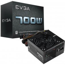 Fonte EVGA 700 BR 700W, 80 Plus White, PFC Ativo, 100-W1-0700-K1