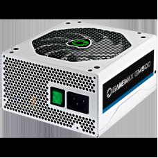 Fonte Gamemax GM500 500W, 80 Plus Bronze, PFC Ativo, White - Open Box