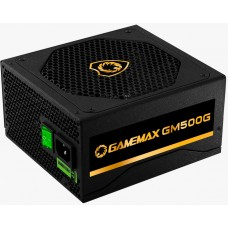 Fonte Gamemax GM500G 500W, 80 Plus Gold, Semi-Modular, PFC Ativo, Black