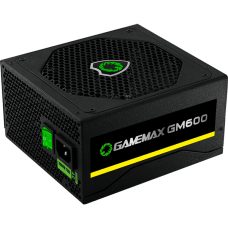 Fonte Gamemax GM600 600W, 80 Plus Bronze, PFC Ativo, Semi Modular