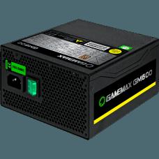 Fonte Gamemax GM600 600W, 80 Plus Bronze, PFC Ativo, Semi Modular