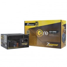 Fonte Seasonic Core GX-550, 550W, 80 Plus Gold, Full Modular