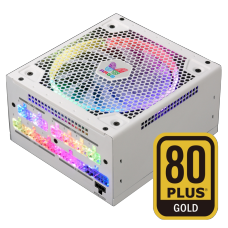 Fonte Super Flower LEADEX III ARGB 750W, 80 Plus Gold, PFC Ativo, Full Modular, White, SF-750F14RG(WH)