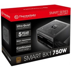 Fonte Thermaltake Smart BX1 750W, 80 Plus Bronze, PFC Ativo, PS-SPD-0750NNFABB