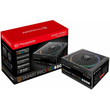 Fonte Thermaltake Smart Pro RGB 850W, 80 Plus Bronze, PFC Ativo, Full Modular, PS-SPR-0850FPCBUS-R