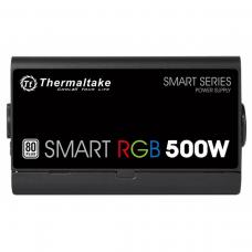 Fonte Thermaltake Smart Series RGB 500W, 80 plus White, PFC Ativo, PS-SPR-0500NHFAWB-1