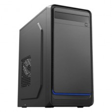 Gabinete Gamemax 6503BK, Micro Tower, Black, C/fonte, S/Fan