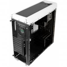 Gabinete Gamer Aerocool Aero 500G RGB, Mid Tower, Com 1 Fan, Vidro Temperado, White, S-Fonte