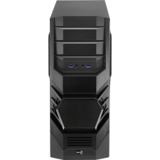 Gabinete Gamer Aerocool Cyclops Black Edition, Mid Tower, Com 1 Fan, Black, S-Fonte, EN52933