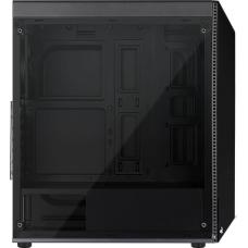 Gabinete Gamer Aerocool Shard RGB, Mid Tower, Com 1 Fan, Black, S-Fonte