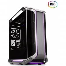 Gabinete Gamer Cooler Master, Cosmos C700M RGB, Full Tower, Vidro Temperado, Black, Sem Fonte, Com 4 Fans, MCC-C700M-MG5N-S00